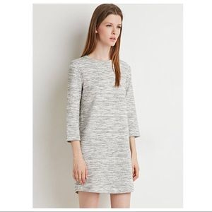 F21 Space-Dyed Dress in Gray